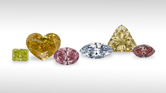 All Diamonds are white: Myth!