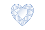 Heart Diamond Shape